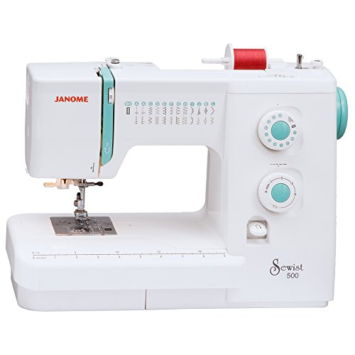 Janome Sewist 500 Sewing Machine with 25 Built-In Stitches and Hard Case