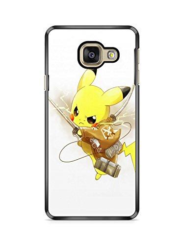 Coque Samsung Galaxy A3 2016 (Version A310) Pokemon go Team Pokedex Pikachu Manga Valor Mystic Instinct Case