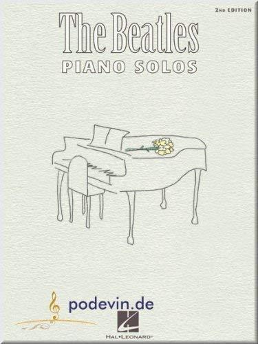 The Beatles Piano Solos - Klaviernoten [Musiknoten]