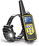 PPTech Shock Collar for Dogs- Rechargeable Dog Training Collar with Remote for Small