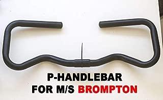 London Craftwork Mini Type P Handlebar for Brompton S/M Type Stem Black Edition P-BAR-BL