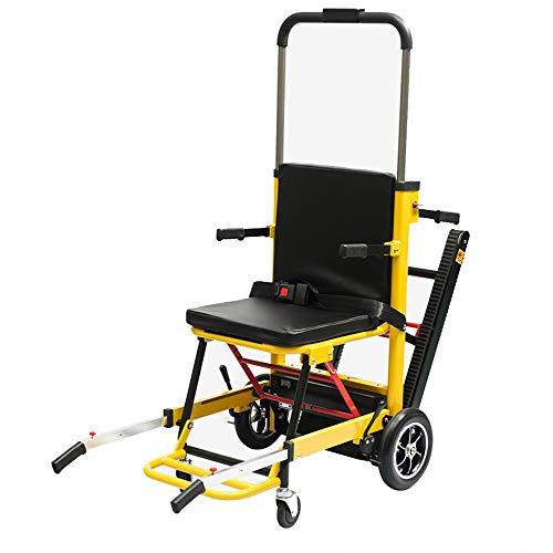 ZHONGXIN Silla de Ruedas eléctrica para Subir escaleras, eléctrica Scooter, para discapacitados y ancianos. Sube y baja la escalera automática