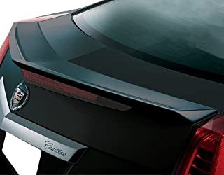 Accent Spoilers - Spoiler for a Cadillac CTS 2-Door Coupe 2011-2014 Flush Mount Factory Style Spoiler (Will not fit The V-Type)-White Diamond Paint Code: WA800J