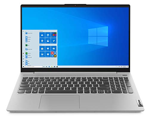 "Lenovo IdeaPad 5 Notebook, Display 15.6"" FullHD, Processore Intel Core i5-1035G1, 256 GB SSD, RAM 8 GB, Windows 10, Platinum Grey"