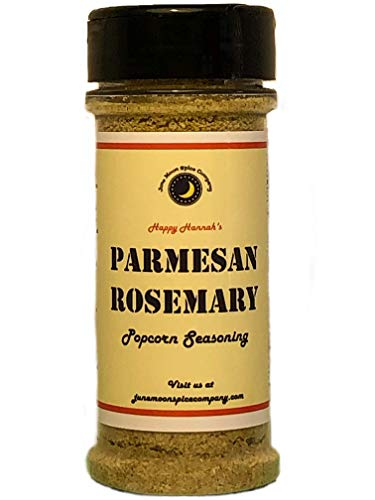 Review Premium | PARMESAN ROSEMARY Popcorn Seasoning | Large Shaker | Calorie Free | Fat Free | Satu...