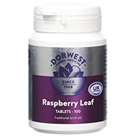 Dorwest Herbs Raspberry Leaf Tablets for Dogs and Cats 100 Tablets