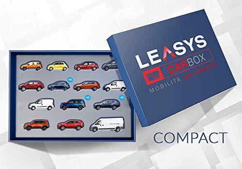 Iscrizione abbonamento Leasys CarBox Compact | Mobilità on-demand da utilizzare per 240 giorni in 1 anno