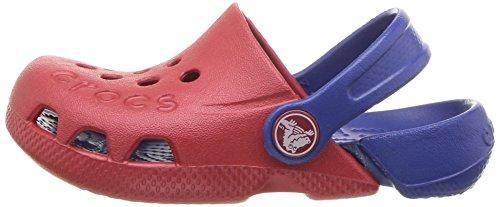 crocs Unisex-Child Electro Pepper/Cerulean Blue Clogs-12 Kids UK (C12) (10400)