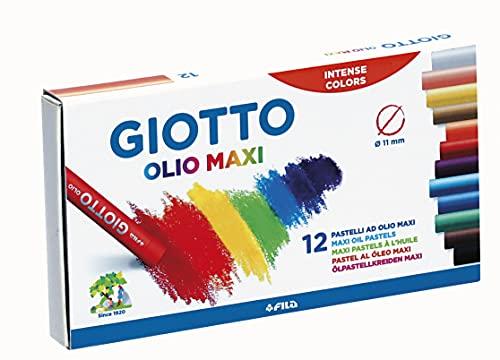 Giotto pastelli ad olio in astuccio da 12 colori