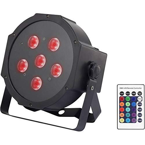 LED-PAR-Scheinwerfer Renkforce Powerpar 1418269 Leistung: 48 W RGB Multi-Color
