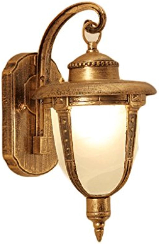 CCF Eisen Kunst Wand Lampe-Outdoor Licht wasserdicht Straenlaterne Balkon Lichter Bar Cafe Wandleuchte ITMTH
