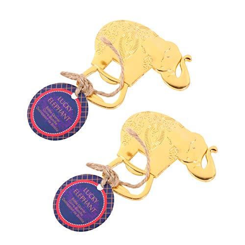 ABOOFAN Abridor de Garrafas Criativo Abridor de Garrafas de Elefante Figurinhas Decoração Pode Bater Garrafa Soco Ferramentas de Segurança Profissionais Portáteis para Casamento Dia Dos