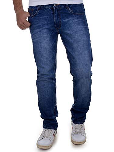 Ben Martin Men's Regular Fit Jeans (BM-JJ3-DARK BLUE-36)