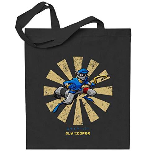Sly Cooper Retro Japanese Totebag