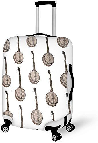 Gepäckkoffer Gepäck, Anti-Kratz-Koffer Schutzhülle, Gepäckanhänger, Banjo Musical M.