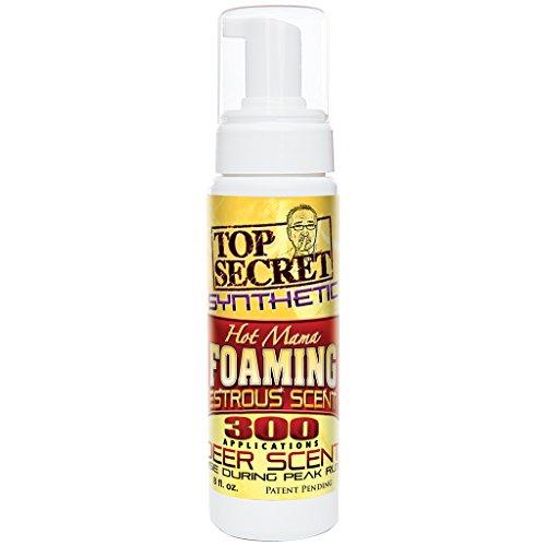 Top Secret Deer Scent Hot Mama Synthetic Foam, Yellow, 8 oz