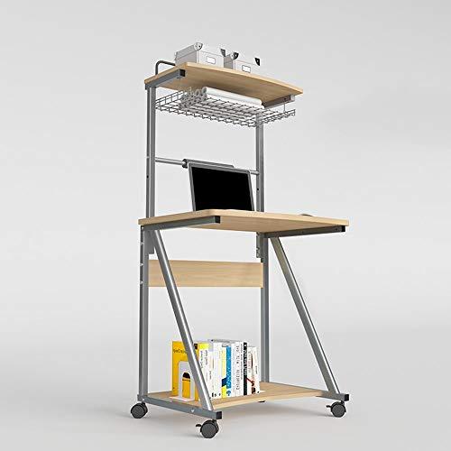 Home Beistelltische Multifunktionstisch Computertisch Schreibtisch mit Hutch Modern Style Workstation Schreibtisch, BOSS LV, c, Ohne Tastaturunterstützung