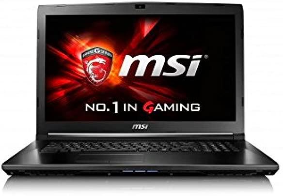 MSI GL62-6QFi781H11 39 6 cm  15 6 Zoll  Laptop  Intel Core i7 6700HQ  8GB RAM  1TB HDD  NVIDIA GF GTX 960M  Win 10 Home  schwarz grau