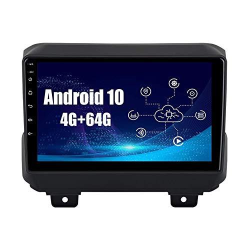 9 pulgadas Android 10 Auto Estéreo Radio Multimedia Jugador Navegacion GPS para 2018 2019 Wrangler JL Radio Navegación por satélite Cabeza Unidad IPS Tocar Pantalla DSP Bluetooth SWC Video Receptor