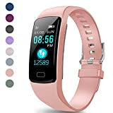 LEKOO Fitness Tracker - Activity Tracker with Heart Rate Monitor - Waterproof Smart Watch with Step Counter - Pedometer Watch for Kids Women and Men