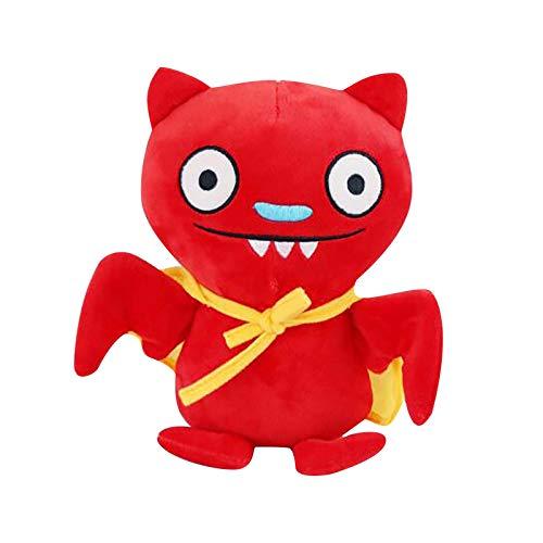 N/AA Amuse-MIUMIU Plüsch Neuheit Puppe Kuscheltier Cartoon Hässliche Puppe Geburtstagsgeschenke, Bett-Zeit-Plüschtier-Spielwaren, Schlafenszeit Kuscheltier Spielzeug (25 cm)
