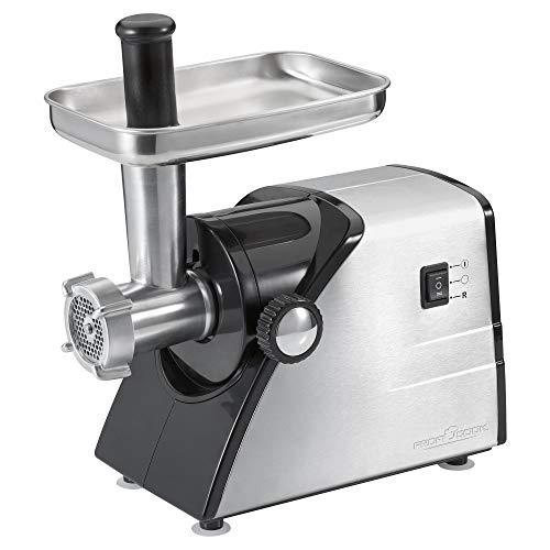Proficook FW 1060 Picadora de Carne, Accesorios para Embutir Salchic, 1000 W,...