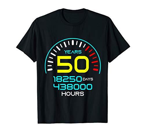 Speedometer 50 Birthday T-Shirt