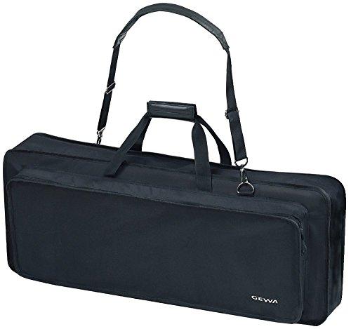 Keyboard Gig Bag Basic, 85x32x10 cm , mit Notentasche, schwarz, reiß- und wasserfest