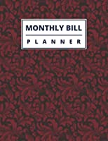 Monthly and Weekly Budget Planner: Expense Tracker, Bill Organizer | Finance and Debts Journal : for Students, Household, Business