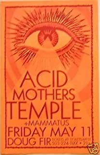 Acid Mothers Temple Melting Paraiso U.F.O. Japanese Psychedelic Concert Poster