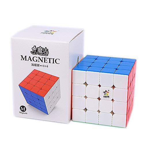 LiangCuber YuXin Little Magic 4x4 Magnetic Speed Cube stickerless YuXin Little Magic M Puzzle Cube Magic Cubes