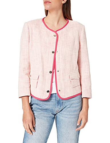 United Colors of Benetton (Z6ERJ) Giacca 2H9D52433 Chaqueta, Rosa 9l5, 36 para Mujer