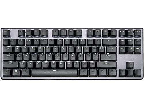 G.SKILL KM360 Professionelle Tenkeyless Mechanische Tastatur Cherry MX Rot ABS Dual Injection Keycap (Schwarz)
