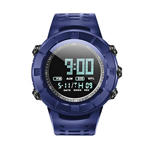 OPAKY Digital Reloj Deportivo Reloj para Hombre Reloj Analógico LED de Fecha Digital con Alarma Impermeable Reloj Deportivo de Cuarzo Militar Al Aire Libre Reloj para Hombres