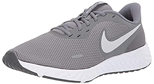 Nike Unisex Revolution 5 (GS) Laufschuh, Cool Grey Pure Platinum Dark Grey, 39 EU