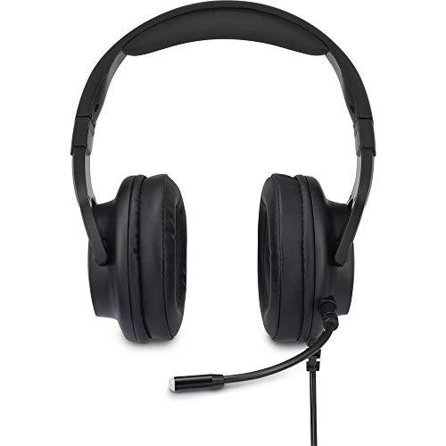Renkforce Gaming Headset USB schnurgebunden Over Ear Black
