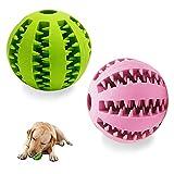 Cani Cuccioli di cane Palla giocattolo non tossica resistente al morso, una bellissima pallina per cani con funzione di cura dentale, 100% gomma naturale