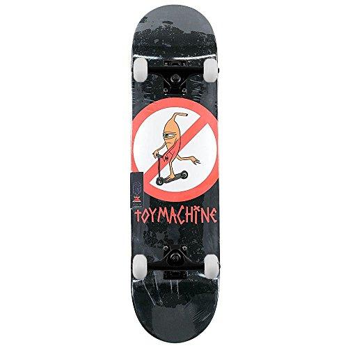 Toy Machine no scooter 20,3cm di larghezza, skateboard completo di configurazione completamente assemblato