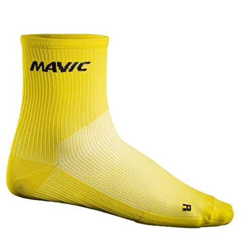 Boburyl Fitness Corsa Ciclismo Marathon Compressione Traspirante Uomini Donne Crew Socks Traspirazione