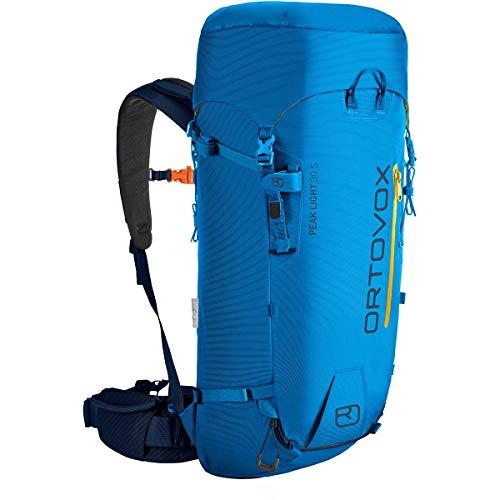 ORTOVOX Peak Light 30 S Sac à Dos Mixte, Bleu sécurité, 30 Liter (27 x 59 x 15 Centimeters)