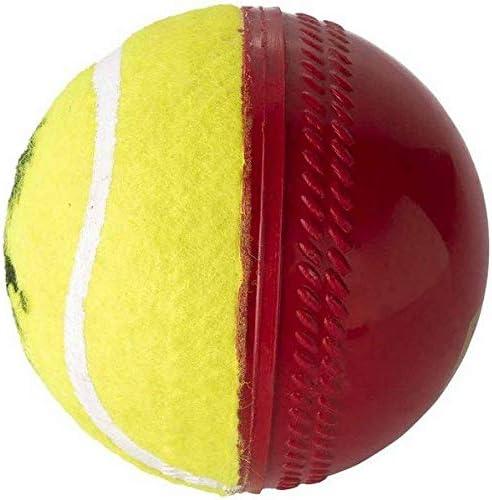 SIPL Swing Ball Half Tennis Cricket Training Ball Size 5 5 Diameter 2 5 cms product image