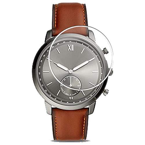 Vaxson 3 Stück Schutzfolie, kompatibel mit Fossil Hybrid Smartwatch NEUTRA WATCH CASE SIZE 45mm, Bildschirmschutzfolie TPU Folie [ nicht Panzerglas ]