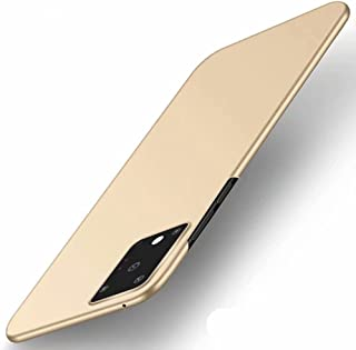 TenDll Case for Realme C21Y, [Ultra slim] and Hard PC protective Phone Case for Realme C21Y Cover -Gold