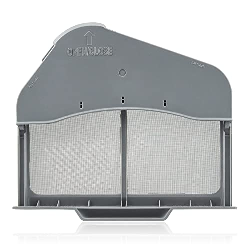 AMI PARTS DC97-16742A Dryer Lint Filter Case Screen Replacement Parts - Compatible with Samsung Dryer DV45H7000EW/A2 DV40J3000GW/A2
