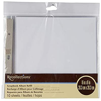 Recollections Scrapbook Album Refill Pages