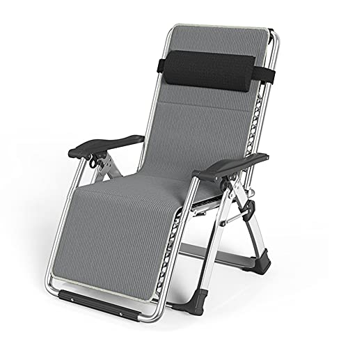 JTYX Folding Sun Lounger Chair Multifunctional Lazy Chair Camping Garden Deck Chairs Zero Gravity Recliner Waterproof Loungers for Outdoor Home Office
