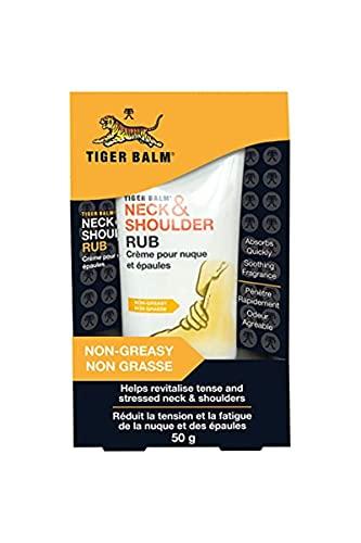 Tiger Balm Crème Neck and Shoulder, Blanc, 50 g