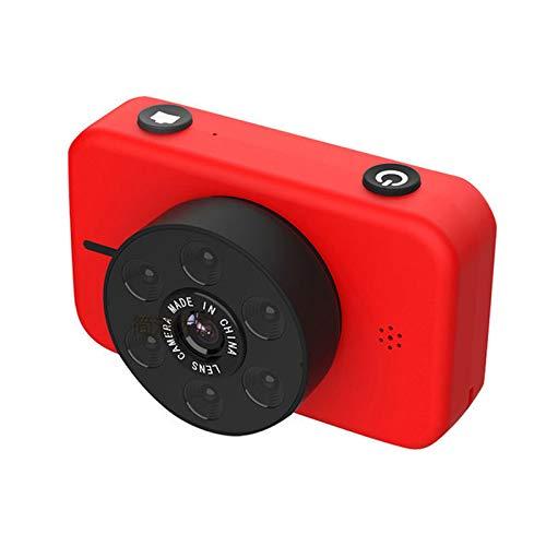 Kamera Kinderkamera Kinder Digitalkamera 2,4-Zoll-Großbildschirm 4K Vorder- und Rückseite mit Zwei Objektiven Anti-Drop + 8G-Hochgeschwindigkeitskarte Mini wiederaufladbare Kinder Camcorder