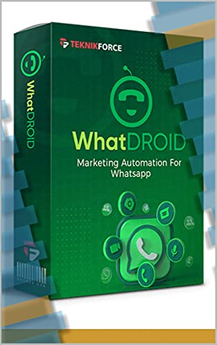 WhatDROID – The Best WhatsApp Broadcasting & Automation Tool in 2021 Front Cover