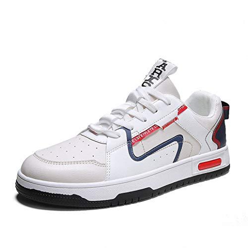 929 Zapatillas deportivas para hombre, con cojín de aire, para fitness, gimnasio, ligeras, cómodas, color Multicolor, talla 43 EU